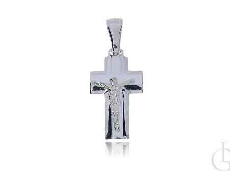 Krzyżyk ze srebra pr.0,925 na prezent
