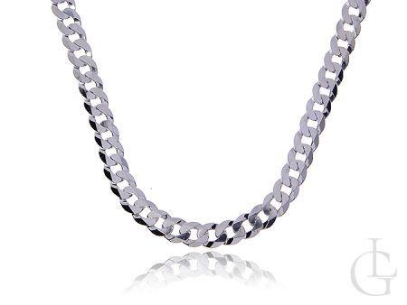 Łańcuszek srebrny męski PANCERKA