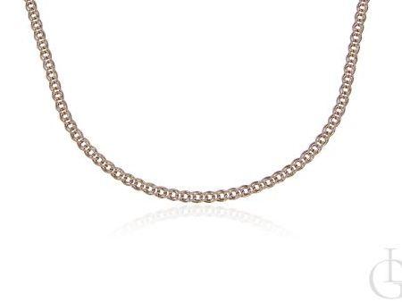 Łańcuszek różowe złoto pr.0,585 pełny splot Monaliza