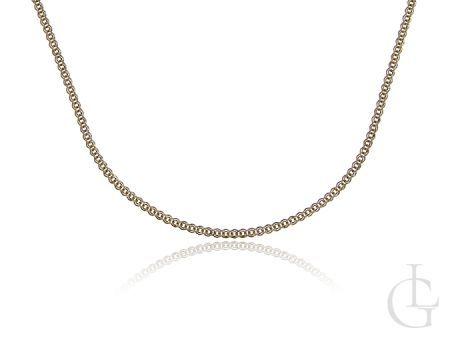 Złoty łańcuszek pr.0,585 pełny splot MONALIZA