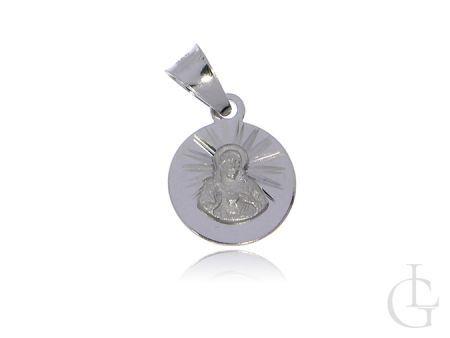 Medalik ze srebra  rodowanego pr.0,925 SZKAPLERZ