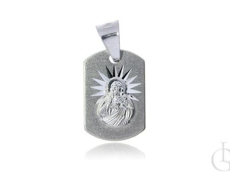 Medalik ze srebra pr.0,925 Szkaplerz na prezent