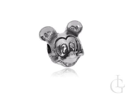 Charms przywieszka do bransoletki modułowej srebro pr.0,925 Myszka Miki Myszka MICKEY
