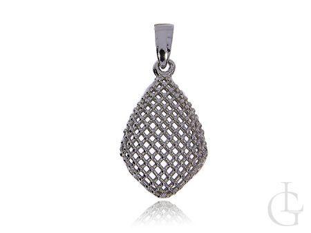 Srebrny wisiorek pr.0,925 damski ażurowy na łańcuszek
