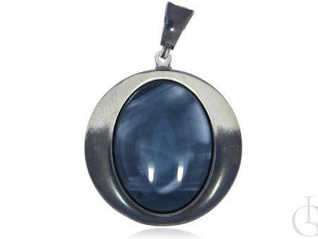 Okazały wisior ze srebra pr.0,925 z masa perłową